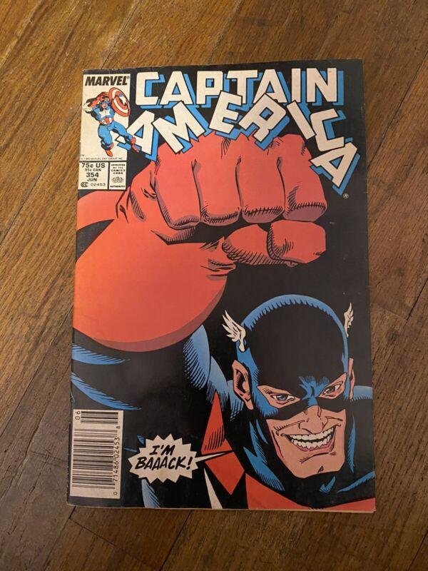Captain America #354 / Newsstand / 1st John Walker as US Agent MARVEL Disney+