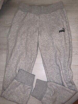 Puma Grey Joggers Size 10