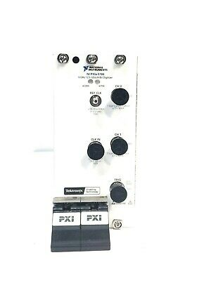 National Instruments Ni Pxie-5186 Pxie 5 Ghz 12.5 Gss 8-bit Pxi Oscilloscope