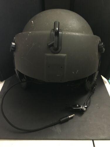 Gentex HGU-56/P Aircrew Integrated Flight Helmet - Size Medium / green w/shades