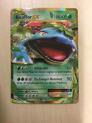 Pokemon Bisaflor EX XY-Evolution 1/108 TCG selten, deutsch!