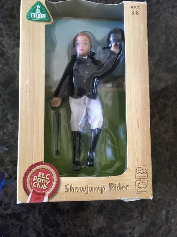 """ELC PONY CLUB SHOW-JUMP Equestrian Horse riding Doll / Figure  6"""" NEW IN BOX"""