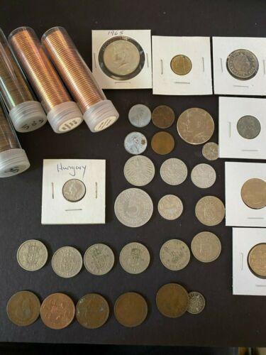 United Kingdom coin lot Silver, Steel 1900
