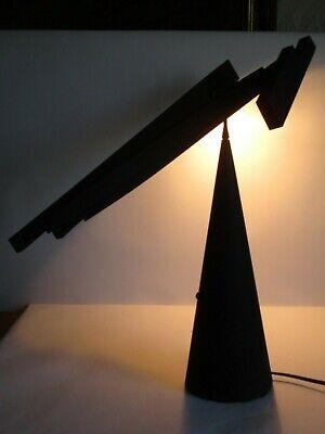 DESIGNER LAMPE ITALIANA LUCE TABLA MILANO VINTAGE TISCHLAMPE Barbaglia & Colombo