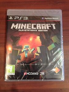 New-Minecraft-Playstation-3-Edition-Sony-PS3-Sealed-UK-PAL-Game