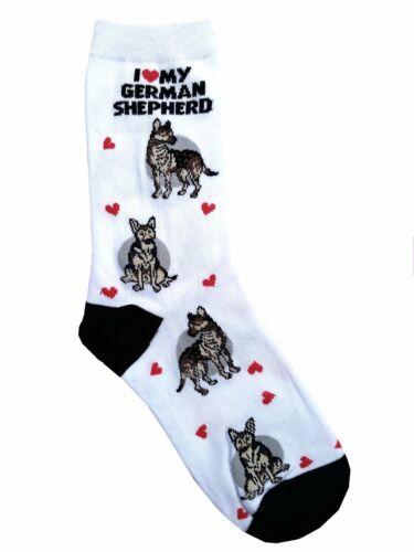 I Love My German Shepherd (631085) Women Size Socks
