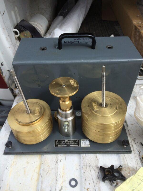 dead weight tester model 50-03 ameriweight