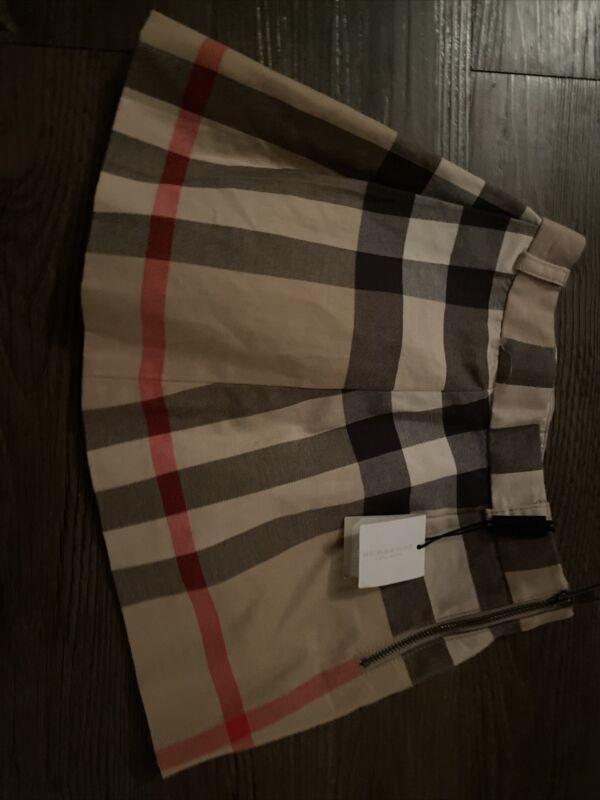 Burberry Children Serena Nova Check Skirt  Sz 4Y  $120