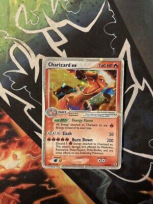 Charizard EX 105/112 Ex Fire Red & Leaf Green Pokemon Card PL