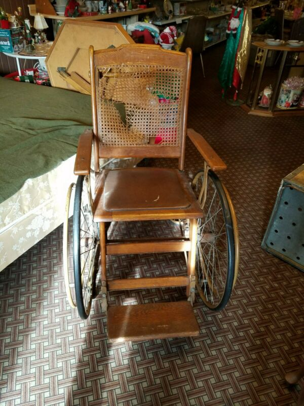 WWII Vintage The Colson Company Wheel Chair good condition for the age