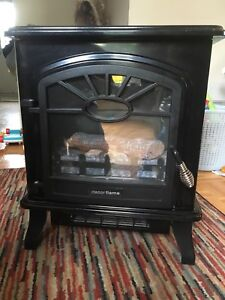 Decor Flame Electric Fireplace Heater QC212, $30