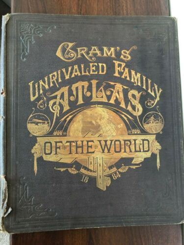 ORIGINAL 1884 CRAM