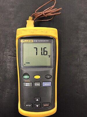 Fluke-51 Ii Digital Thermometer