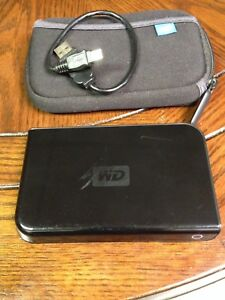 160 GB Western Digital Portable Harddrive