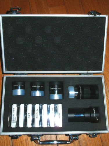 Zhumell Telescope Eyepiece, Barlow  & Filter Set