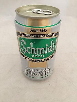 Schmidt Heilman Brewing La Crosse Wisconsin Aluminum Beer Can Bottom Opened