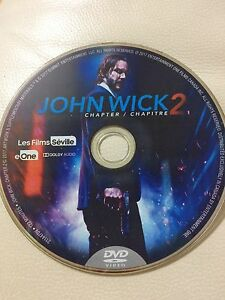 John Wick Chapter 2 DVD (Disc-only, Brand-New)