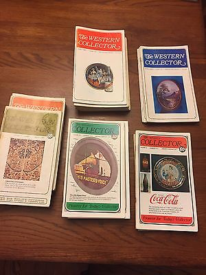 43 issues Western Collector Magazines 1967-1971