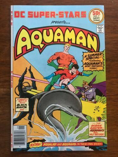 DC Super Stars # 7 (Aquaman) NM+ 9.6 Perfect Book ! Glossy, Bright, Unbeatable !