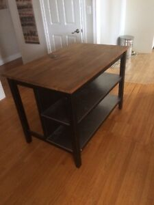 Nice solid kitchen island $200