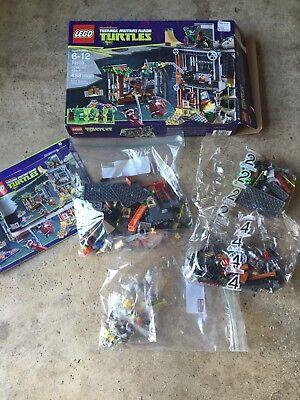 LEGO Teenage Mutant Ninja Turtles Turtle Lair Attack Sewer Set 79103 TMNT