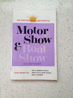 1967 Sydney International Motor & Boat show program / guidebook Blacktown Blacktown Area Preview