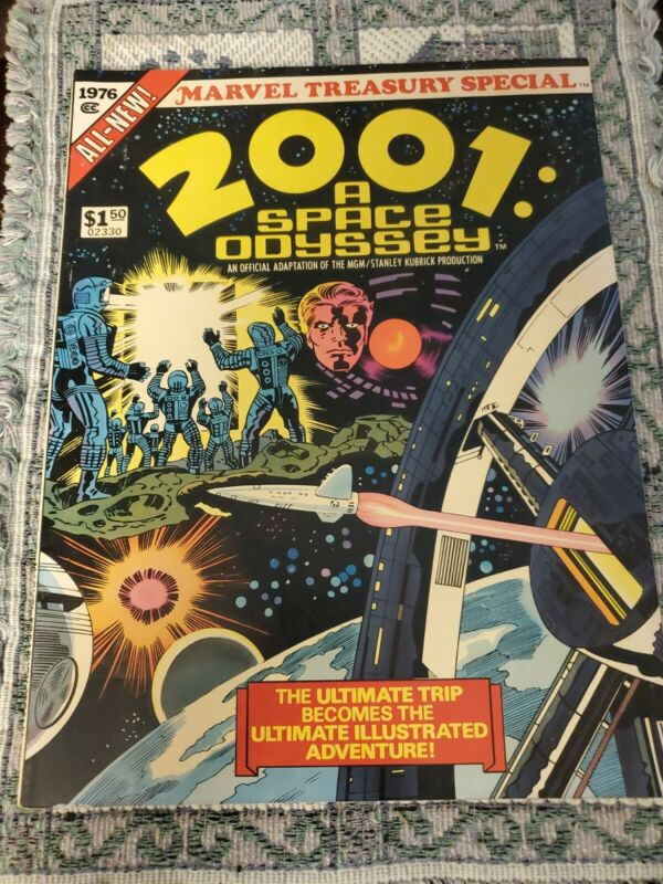 2001 A SPACE ODYSSEY Marvel Treasury Edition Jack Kirby 7.5 But Looks Nicer