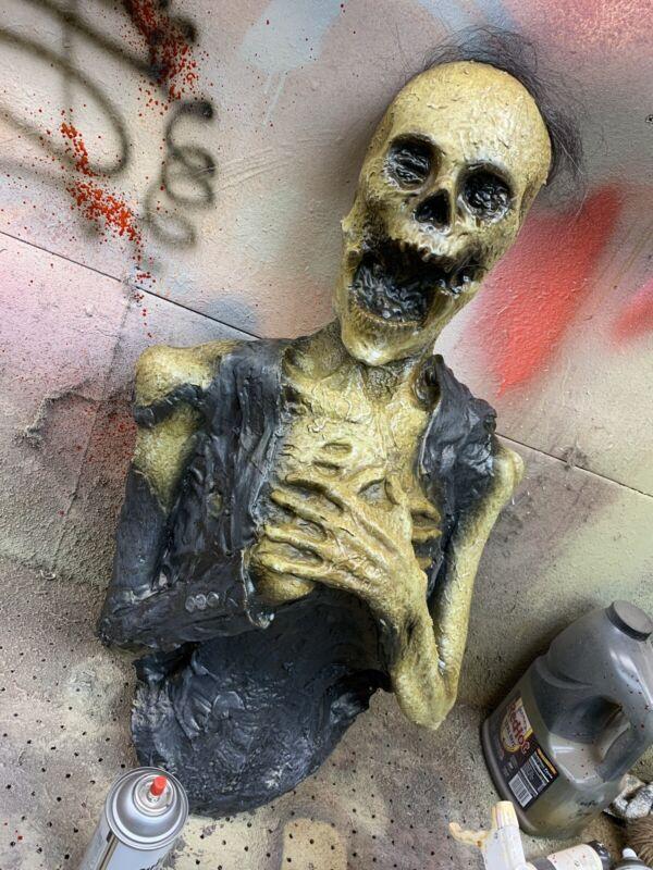 Dearly Departed Half Corpse Body Halloween Foam Latex Prop