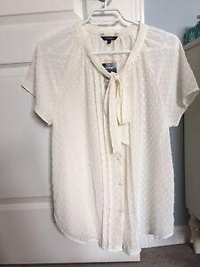 BNWT cream coloured women's' blouse