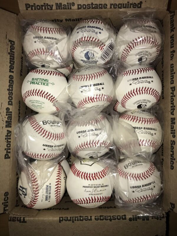 Brand New Leather 24 Baseballs Awesome Condition Perfect For Practice & Training