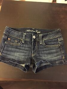 American Eagle short shorts size 2