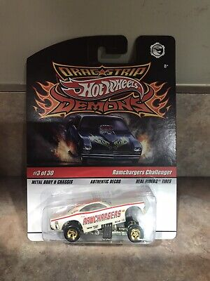 Hot Wheels Dragstrip Demons Ramchargers Challenger Funny Car #3 Of 30