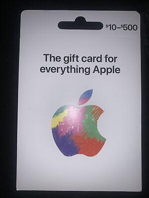 apple itunes gift card 100