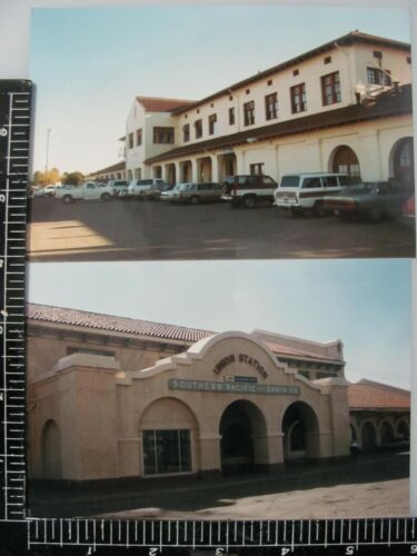 PHEONIX ARIZONA SANTA FE RAILROAD STATION ORIG PHOTOS & NEGATIVES LOT of 6