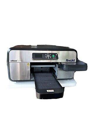 Anajet Mp5i Mpower Apparel Printer Dtg Direct To Garment - Application Error