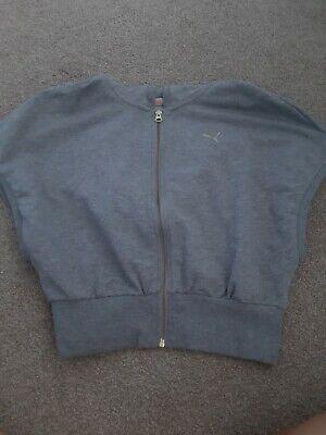 Puma Vest /Cropped Hoodie Womens