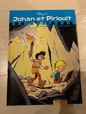 Johan et Pirlouit - L'Intégrale - tome 4 - Les années Schtroumpfs. Peyo. Dupuis.