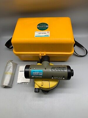 Topcon Green Label At-g6 Automatic Level - Wcase Used Tt21