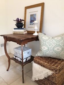 Beautiful Restored Accent Table