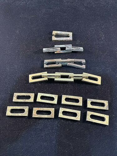 Antique Square Brass Mission Style Chain Links