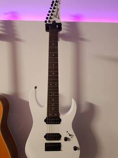 Ibanez 7 String Guitar RG7421 Ormeau Gold Coast North Preview