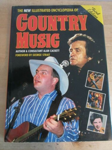 Illustrated Encyclopedia of Country Music 3rd Edition - Excellent Condition