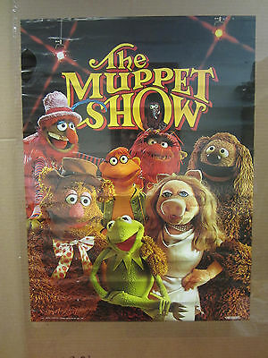 Vintage 1976 The Muppet Show poster muppet characters 4510