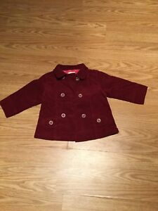 Red Corduroy Jacket (just like new!)