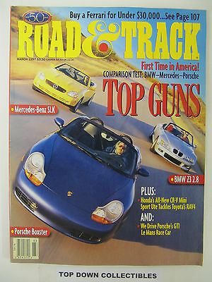Road and Track Magazine   March  1997  Used Car Classic: Ferrari 308 Best