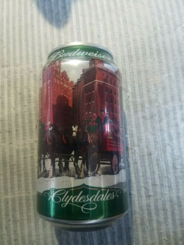 Budweiser Limited Edition Holiday Stein #1 12oz beer can