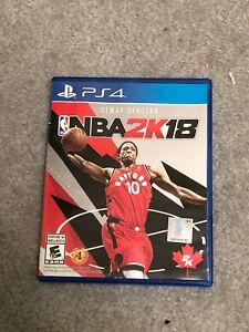Great Condition NBA 2K18 for Sale
