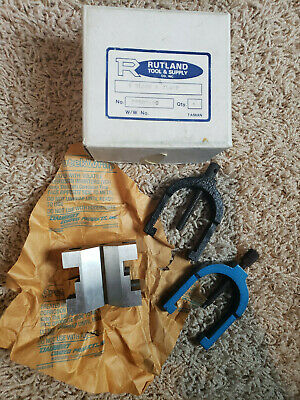 Rutland Tool Supply V Block Clamp Vintage - No 22507600 Never Used