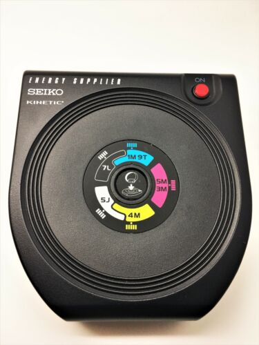 SEIKO YT02A KINETIC WATCH ENERGY SUPPLIER CHARGER WINDER PRE-OWNED