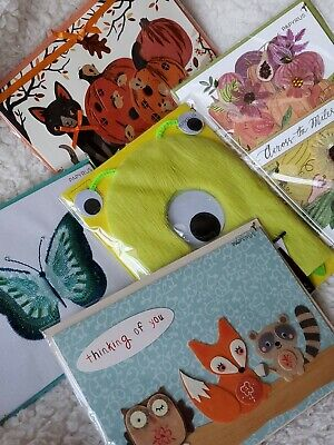 5 PAPYRUS Greeting Cards Assorted Birthday Thanksgiving Halloween & More $40](Halloween Birthday Cards)